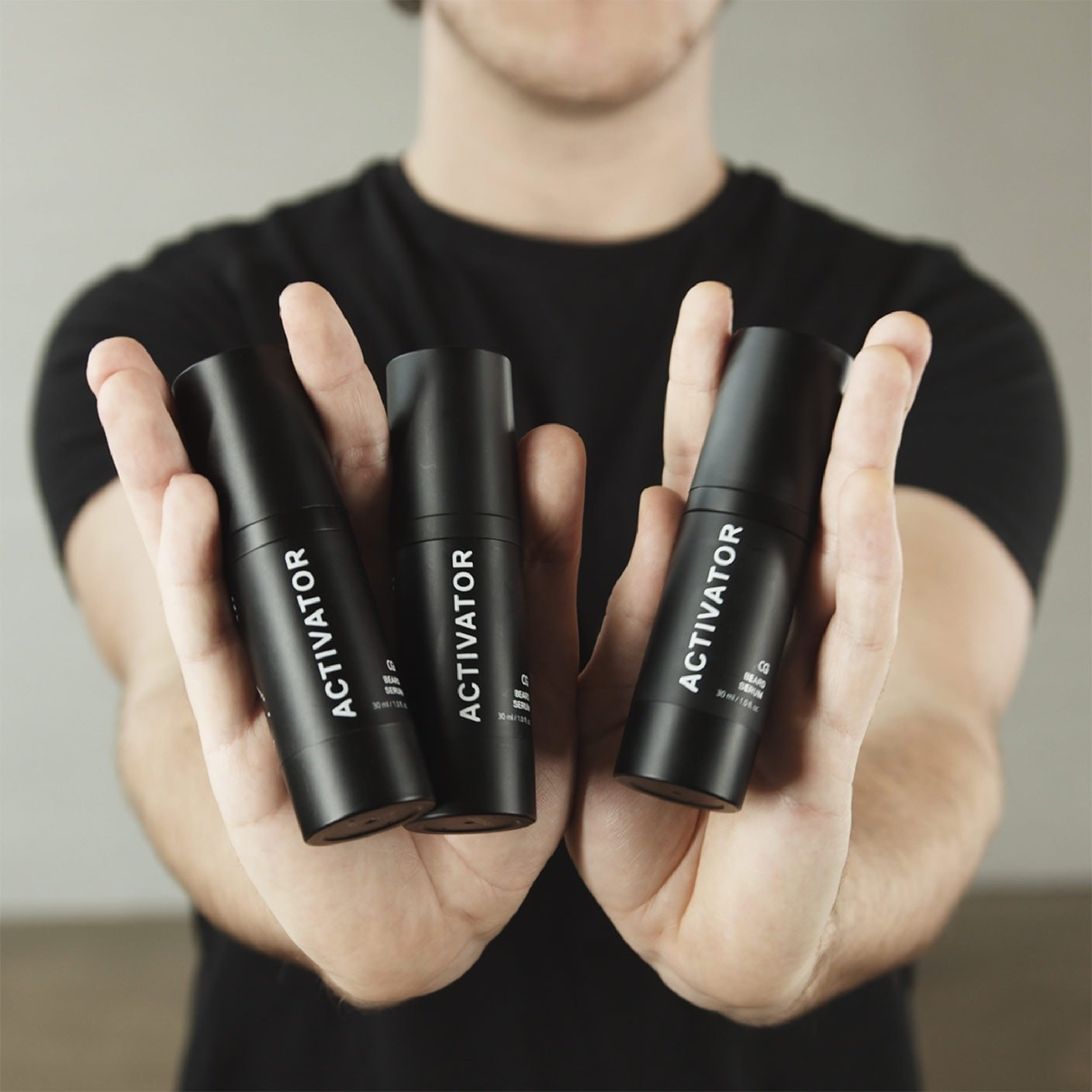 The Beard Growth Kit +3 Activators