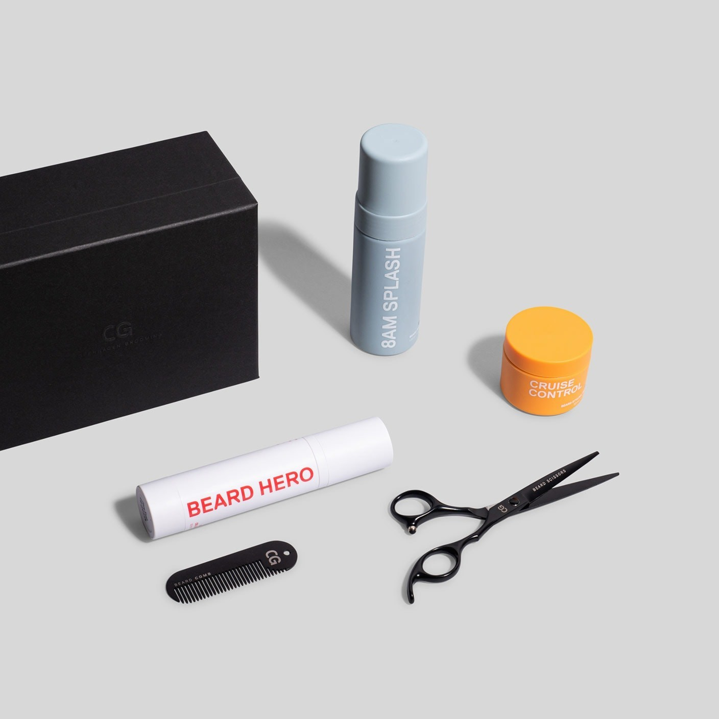 The Beard Care Kit + Scissors