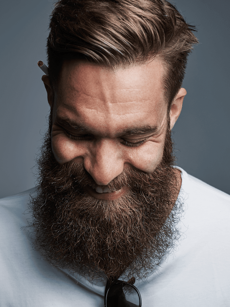 Beard or skin will never go sore